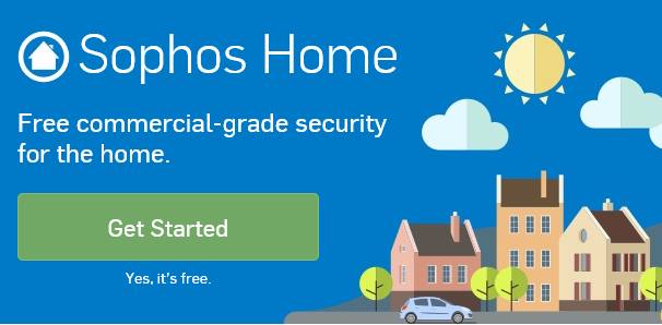 Sophos Home: Free commercial-grade security for the home.