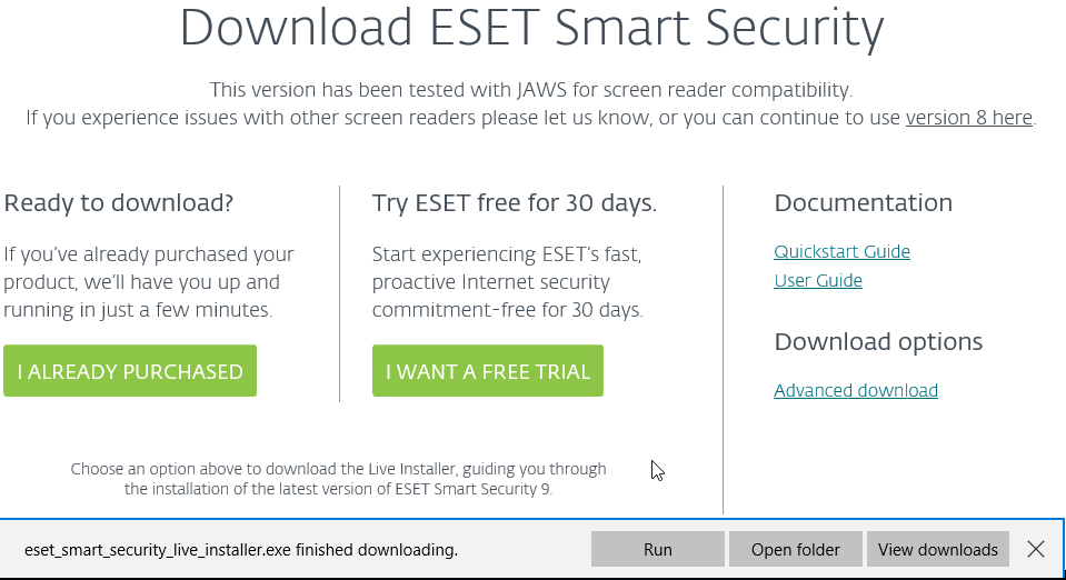 Download ESET Smart Security 9