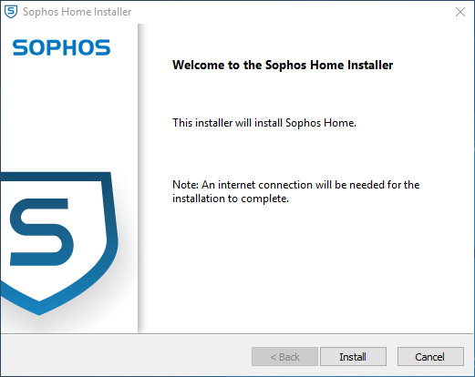 Welcome to the Sophos Home Installer