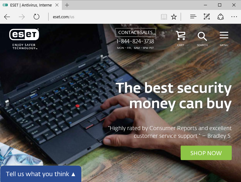 ESET.com: The best security money can buy