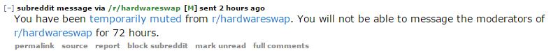 reddit-hardwareswap muted message